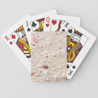 Sand and Shells Playing Cards