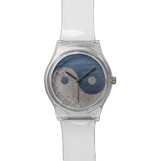 Sand and Water Yin and Yang watch