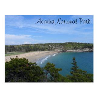 Sand Beach- Acadia National Park Postcard