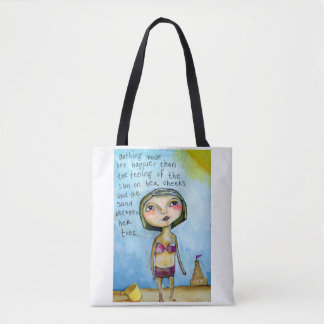 Sand Between Her Toes Tote Bag