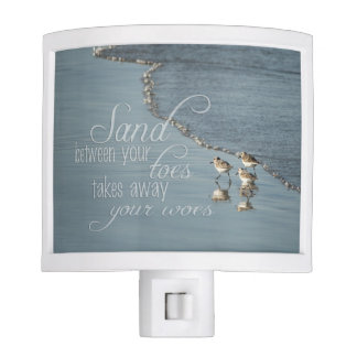 Sand Between Your Toes Beach Quote Nite Lite