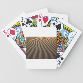 sand bicycle playing cards