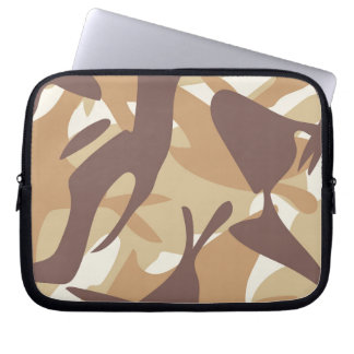 Sand Camouflage Laptop Sleeves