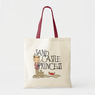 Sand Castle Princess Tote Bag