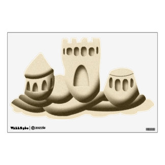Sand Castle Wall Sticker