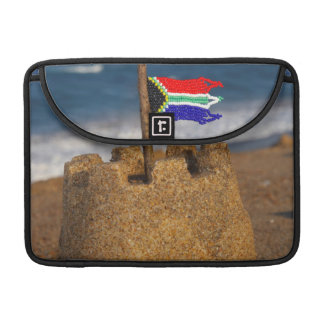 Sand Castle With South African Flag, Umhlanga Sleeve For MacBook Pro
