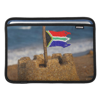 Sand Castle With South African Flag, Umhlanga Sleeves For MacBook Air