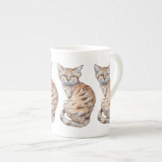 Sand Cat Tea Cup
