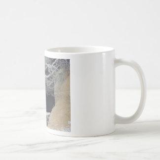 Sand Cave at the Beach Basic White Mug