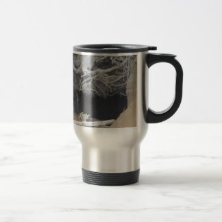Sand Cave at the Beach Stainless Steel Travel Mug