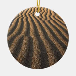 sand ceramic ornament