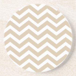 Sand Chevron Coasters