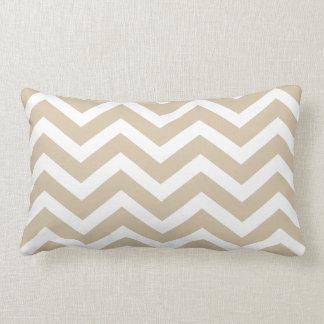 Sand Chevron toss pillow