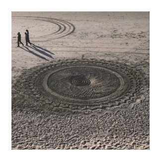 Sand Circle Canvas #4