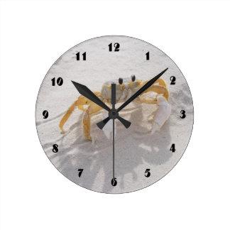 Sand Crab Beach Clock