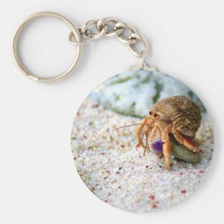 Sand Crab, Curacao, Caribbean islands, Photo Keychain