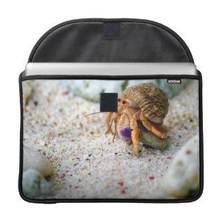 Sand Crab, Curacao, Caribbean islands, Photo MacBook Pro Sleeve