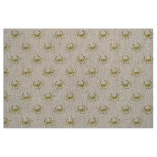 Sand Crab Fabric
