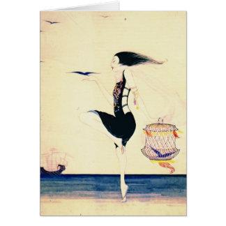 Sand Dancer 1916 Card