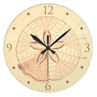 Sand Dollar Beach House Clock