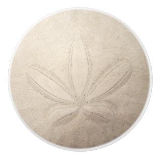 Sand Dollar Ceramic Pull Ceramic Knob