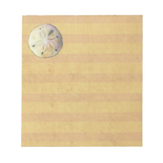 Sand dollar for beach combers notepad