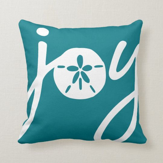 Sand Dollar Joy Throw Pillow