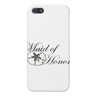 Sand Dollar Made of Honor iPhone 5 Case