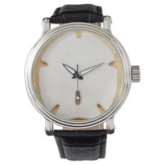 Sand Dollar on the Beach Wristwatch