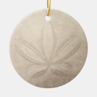Sand Dollar Round Ornament