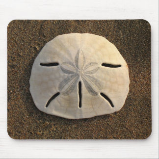 Sand Dollar Sea Shell Sand Beach Mousepad