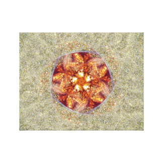 Sand Dollar Swirl Canvas Print