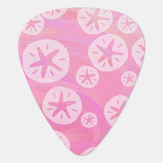 Sand Dollar White and pink Pick