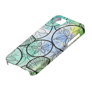 Sand Dollars and Sea Shells iPhone 5 Cases