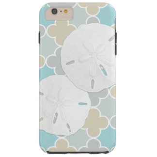 Sand Dollars Quatrefoil Pattern iPhone 6 Case