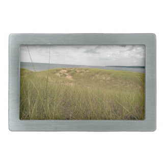 Sand dune belt buckle