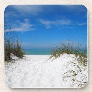 Sand Dune in Bradenton Florida Drink Coasters