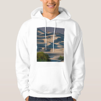 Sand dune landscape, California Hoodie