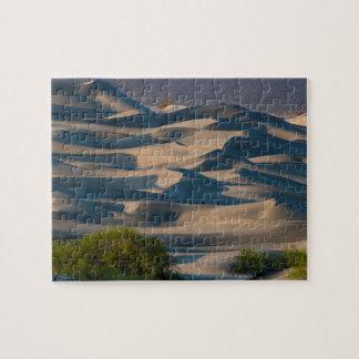 Sand dune landscape, California Jigsaw Puzzle