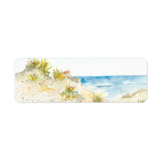 SAND DUNE RETURN ADDRESS LABELS