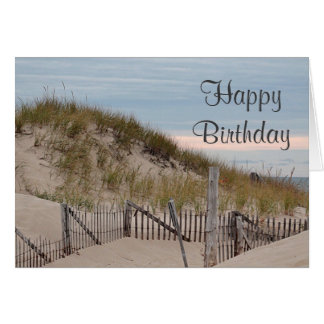 Sand dunes at Race Point, Cape Cod Card