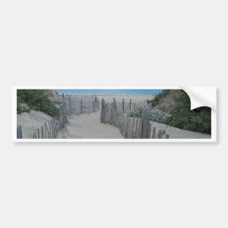 Sand Dunes Block Island Bumper Sticker