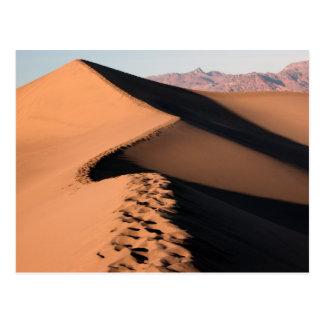 Sand Dunes - Death Valley Postcard
