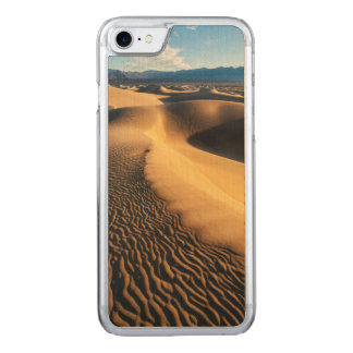 Sand dunes in Death Valley, CA Carved iPhone 8/7 Case