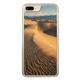 Sand dunes in Death Valley, CA Carved iPhone 8 Plus/7 Plus Case
