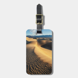 Sand dunes in Death Valley, CA Luggage Tag