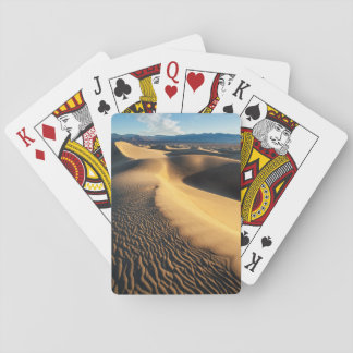 Sand dunes in Death Valley, CA Playing Cards
