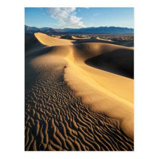 Sand dunes in Death Valley, CA Postcard