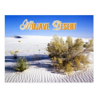 Sand Dunes in the Mojave Desert, California Postcard