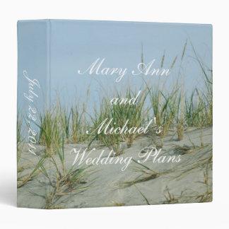 Sand Dunes Wedding Planner Binder